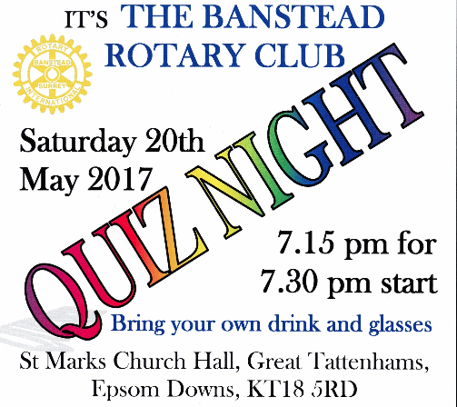 Banstead Rotary Club Quiz Night